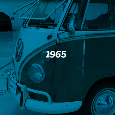 VW Microbus De Luxe SAMBA T1 - 1965